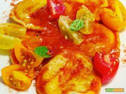 Ricetta di ravioli di patate, pecorino e menta con salsa al pomodoro