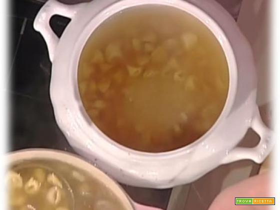 Tortellini in brodo da La Prova del Cuoco