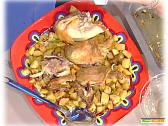 Pollo al limone e patate sabbiose di Anna Moroni