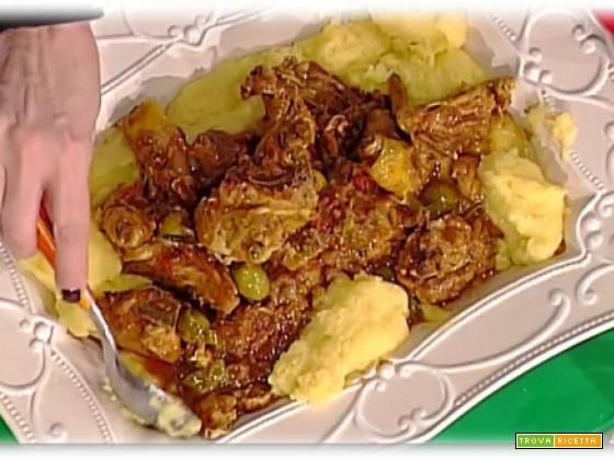 Pollo con salsa piccante di Luisanna Messeri