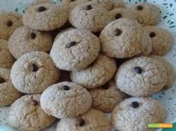 Biscottini alle mandorle e caffè