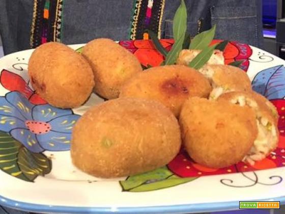Suppli' con Mortadella, Pistacchi e Pannerone da La Prova del Cuoco