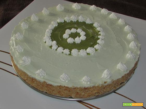 Ricetta – Cheesecake al pistacchio