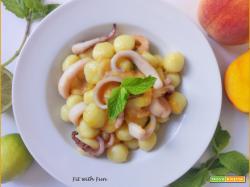 Gnocchi Fruttati e Profumati con Calamari