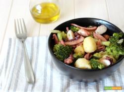 Polpo patate e broccoli