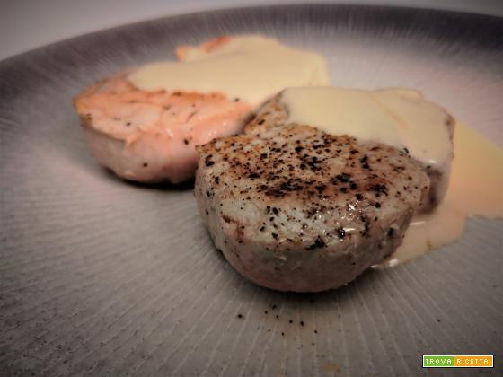 Filetto di maiale con salsa alla senape
