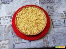 Streuselkuchen – Torta di briciole con crema