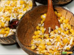 Chana Dal Sundal snack veloce indiano