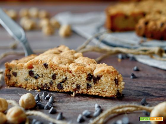 Torta Cookie al Cioccolato e Nocciole