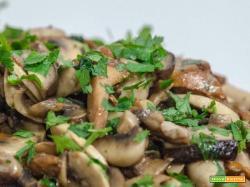 Funghi Trifolati come prepararli