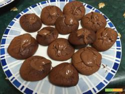 Avete poco tempo e volete fare dei biscotti in modo semplice e veloce? NUTELLOTTI !