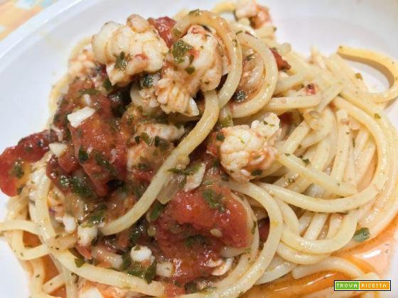 Spaghettata di gamberi
