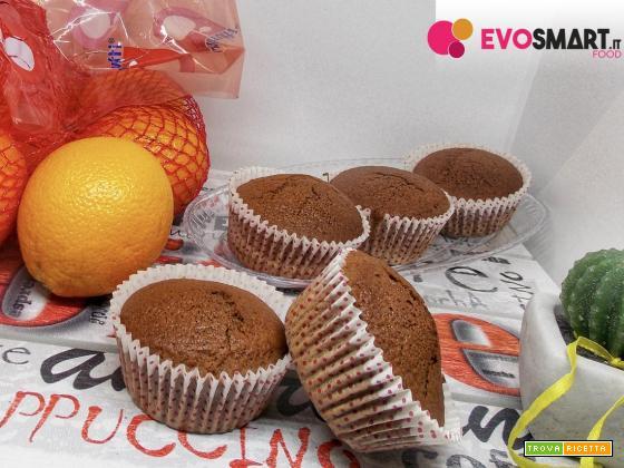 Mini pan d'arancio al cacao senza glutine