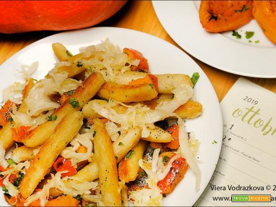 Opečené bramborové šišky – gnocchi arrostiti
