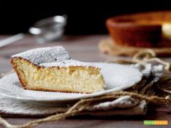 Torta allo Yogurt Greco e Arancia