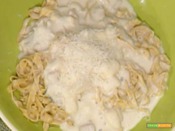 Tagliatelle ai 4 formaggi da La Prova del cuoco