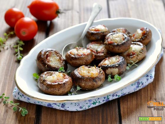 Funghi champignon alla pizzaiola