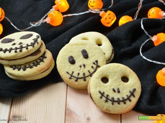 Frollini alla nutella di Halloween