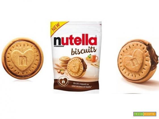 I Nutella Biscuits arrivano in Italia: ecco quando