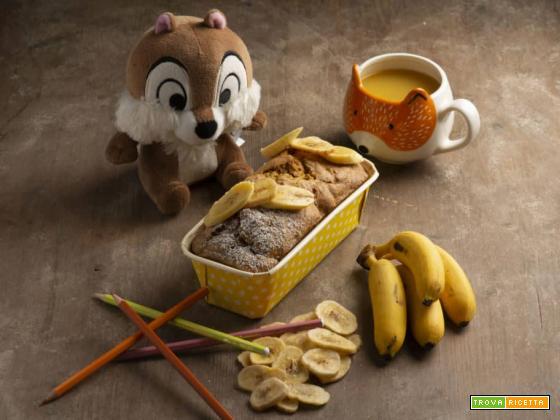 Bauletto alla banana: una colazione salutare per grandi e piccini