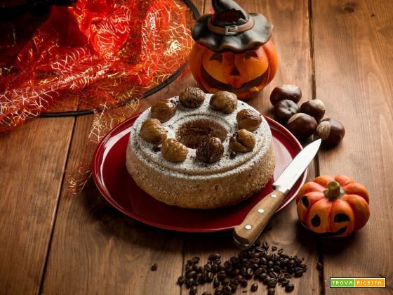 Ciambellone alle castagne: un dolcetto per Halloween