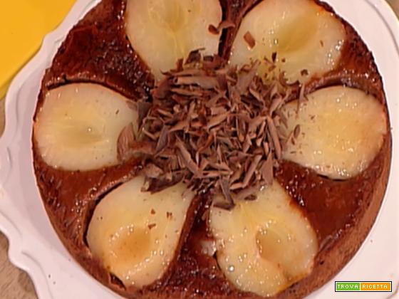 Torta rovesciata cioccolato e pere da La Prova del Cuoco