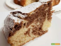 Torta marmorizzata velocissima (senza burro)