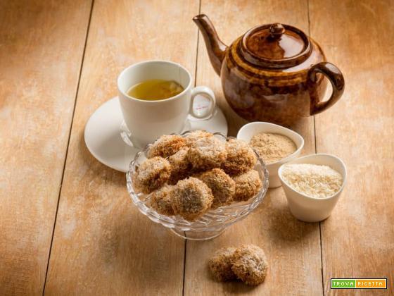 Yoyo : biscotti con cocco e maca , una delizia al sapor di cocco