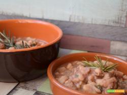 Zuppa di castagne, porcini e fagioli