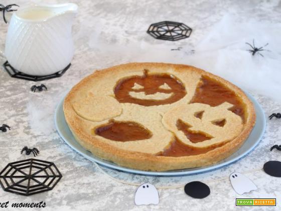 Crostata di Halloween con marmellata