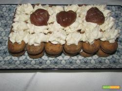Ricetta – Tiramisù con crema di castagne