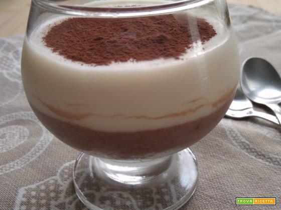 mousse ricotta e cacao