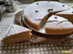 torta al caff senza burro