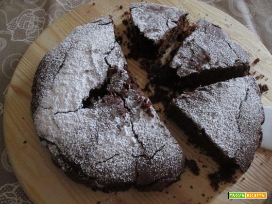 torta al cioccolato senza uova latte e burro