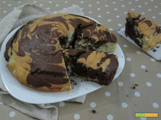 torta panna e cacao