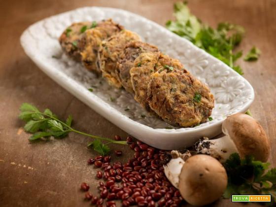 Polpette ai fagioli rossi Azuki: secondo leggero e gustoso