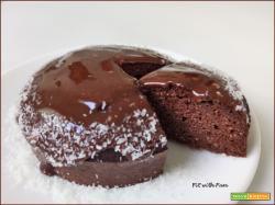 Torta Fondente al Cacao Low Carb e Chetogenica