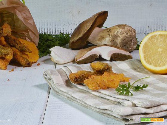 Ricetta Funghi fritti croccanti