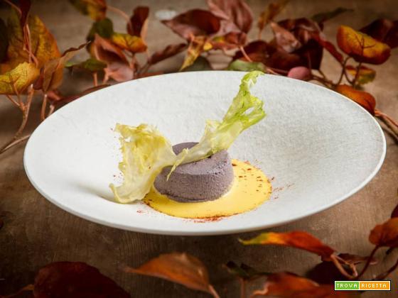 Sformato di cavolo viola: il colore in cucina