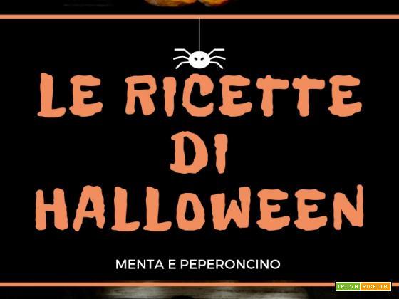 Le ricette di Halloween