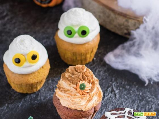 Ricetta Cupcake mostruosi di Halloween