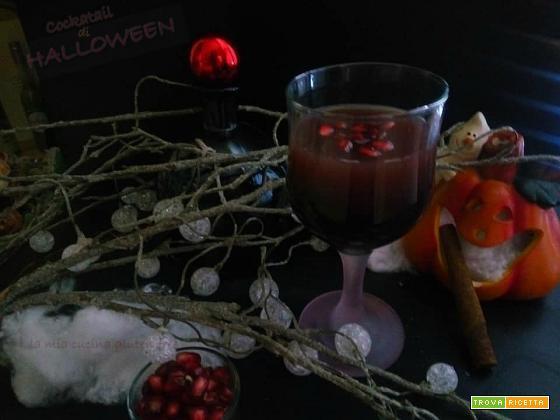 Cocktail di Halloween al melograno