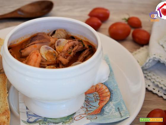 Zuppa di pesce, versione speciale