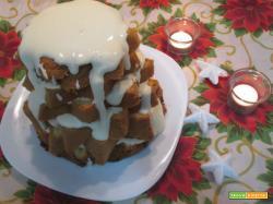 pandoro farcito con crema al mascarpone