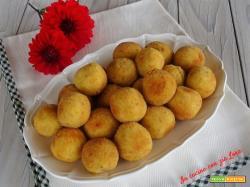 Polpette di zucca e patate alla salvia