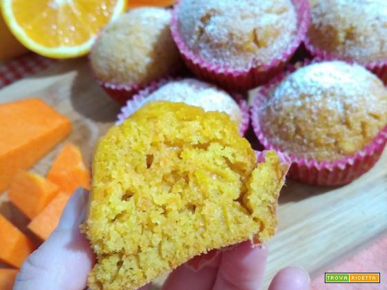 Muffin zucca e arancia
