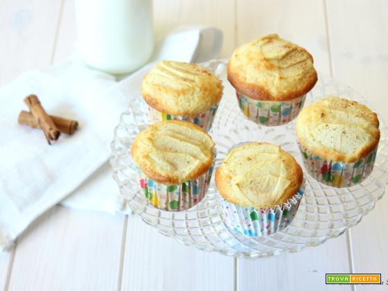 Muffin alle mele senza bilancia