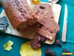plumcake cioccolato fondente e nocciole