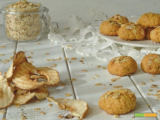 Biscotti crumble di mele Jamie Oliver