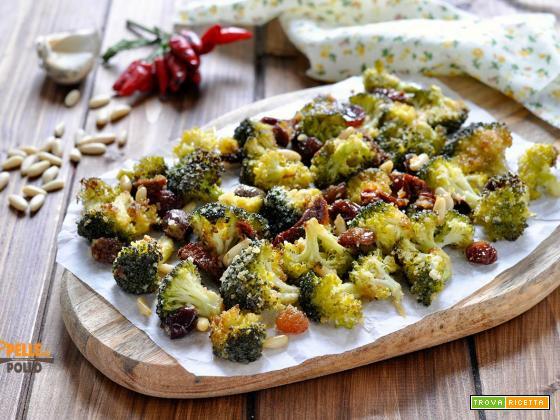 Broccoletti gratinati alla siciliana